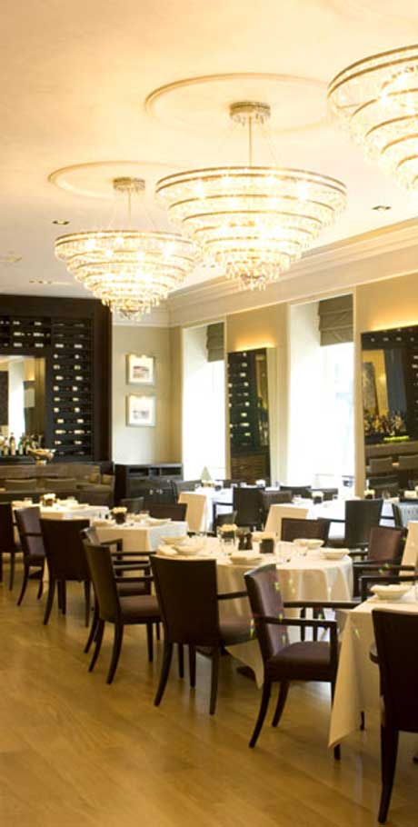 Saper Glass - London Restaurants