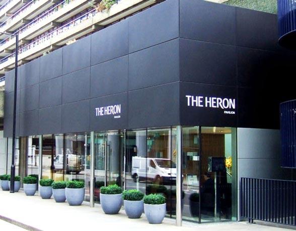 Saper Glass - Heron Pavillions