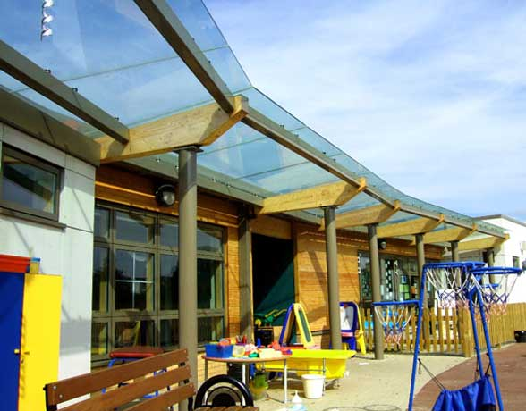 Saper Glass - Whitings Hill School