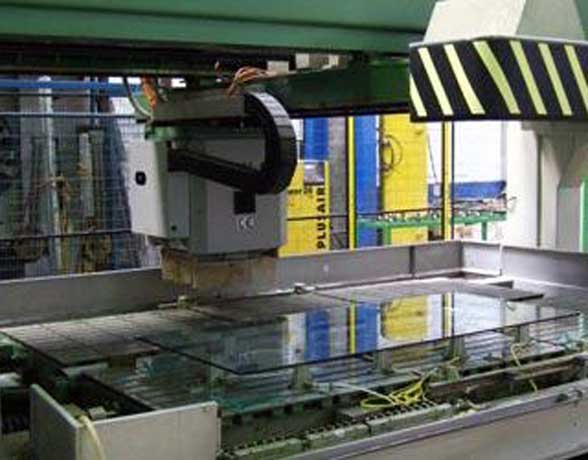 Saper Glass Facilities - Glass Processing